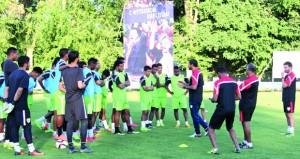 منتخبنا الأولمبي لكرة القدم يبدأ غدا مشواره الآسيوى بملاقاة نظيره القرغيزستاني