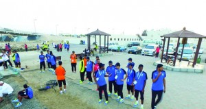 اليوم حفل افتتاح معسكر شباب الأندية الثاني2017 بالمجمع الرياضي بصور