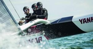 فريق عُمان للإبحار بفئة ديام24 يترقب صافرة انطلاق سباق الطواف الفرنسي للإبحار الشراعي 2017م