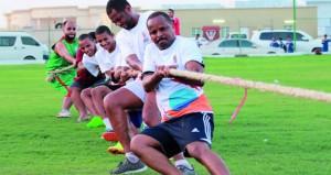 مشاركة واسعة في الأيام الرياضية المفتوحة في برنامج صيف الرياضة بشمال الباطنة
