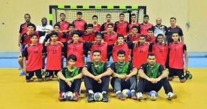 منتخب الناشئين لكرة اليد ينهي معسكره الداخلي الرابع