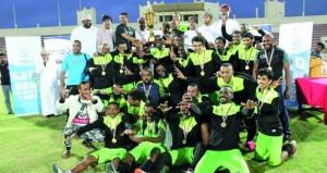 ختام بطولة شجع فريقك لكرة القدم بمحافظة ظفار