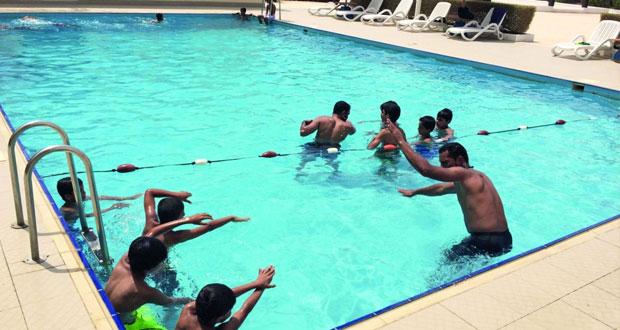 انطلاق فعاليات مراكز تدريب الناشئين بصيف الرياضة وسط إقبال كبير من المشاركين