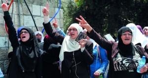الاحتلال يعسكر القدس قبيل(جمعة النفير) ويسمن سرطانه الاستيطاني