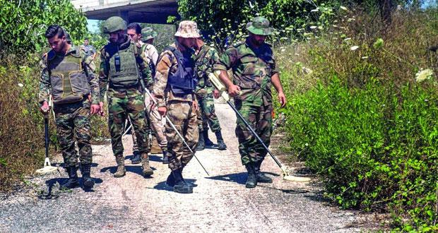 الجيش السوري يتقدم في عمق البادية ويدعو أهالي منطقتين بحلب للعودة