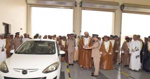 افتتاح مركز شرطة مرباط ومبنى الخدمات بظفار