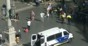 قتيلان وجرحى في (هجوم إرهابي) في برشلونة