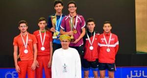 منتخبنا الوطني يحصل على الميدالية البرونزية في بطولة كأس العرب ال١٦ لكرة الطاولة
