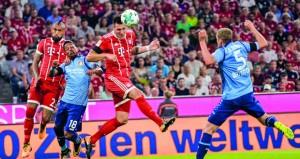 بداية جيدة لبايرن ميونيخ في الدوري الألماني