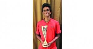 عبدالله البرواني يتوج بلقب بطولة لبنان الدولية للتنس