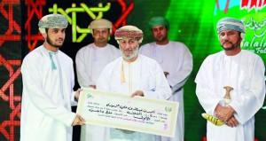 ختام فعاليات مسابقة مهرجان صلالة السياحي لحفظ القرآن الكريم