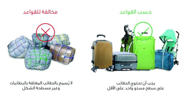 إجراءات جديدة لأمتعة المسافرين بمطارات السلطنة