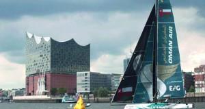فريق قارب الطيران العُماني يتأهب لجولة كارديف بالممكلة المتحدة ويأمل الفوز الثالث بعد فوزين متتابعين في جولتي برشلونة وهامبورج