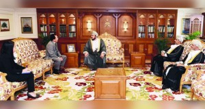 أسعد بن طارق يستقبل سفيري تايلند والنيبال