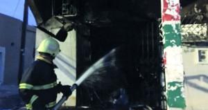 الدفاع المدني والإسعاف تسيطر على حريق في بدية