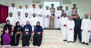 ولاية السيب تمثل محافظة مسقط في المسابقة المرورية على مستوى السلطنة