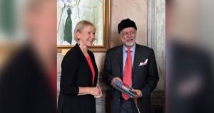 ابن علوي يلتقي وزيرة خارجية السويد