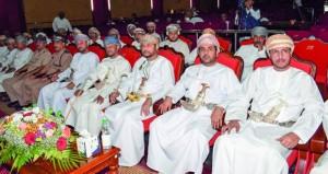 اختتام فعاليات وبرامج الملتقى الأدبي الفني للشباب الـ23 بمحافظة ظفار