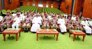 كلية الدفاع الوطني تحتفل بافتتاح دورة الدفاع الوطني الخامسة