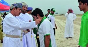 نوماس السعودي يحقق ذهبية السيف والخيالة السلطانية وصيفاً وخيالة الشرطة ثالثاً في بطولة مهرجان صلالة السياحي لالتقاط الأوتاد