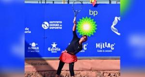 فاطمة النبهانية تكسب أولى لقاءاتها في البطولة الثانية لجراند كناريا الدولية للنساء