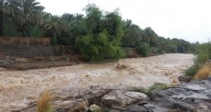 هطول أمطار على عدد من ولايات السلطنة