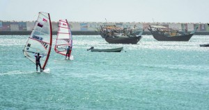 غدا .. انطلاق البطولة الوطنية الرابعة للإبحار الشراعي في صور