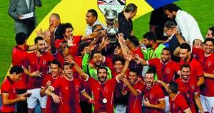 الأهلي يكسب المصري البورسعيدي ويتوج بطلا للمرة 36 في نهائي مثير لكأس مصر