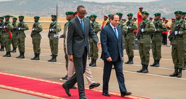 مصر وروندا تؤكدان على أهمية تحقيق التكامل بين دول حوض النيل
