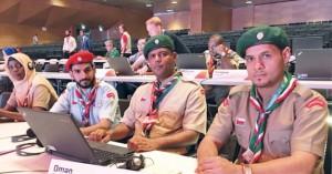 كشافة السلطنة تنهي مشاركتها في اعمال المؤتمر الكشفي العالمي ال41 بأذربيجان