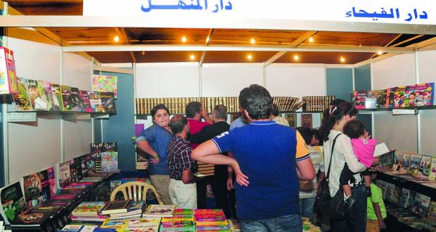 150 دار نشر تقدم 100 ألف عنوان بمعرض مكتبة الأسد الدولي للكتاب