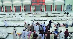 أكثر من 246 ألف ريال عماني قيمة مبيعات سوق الجملة المركزي للأسماك يوليو الماضي