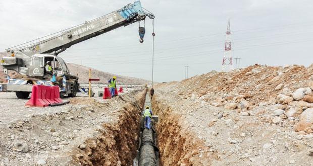 """""""ديم"""" تواصل مشاريع توصيل المياه لعدد من محافظات وولايات السلطنة"""