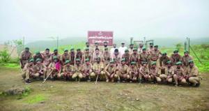 مهرجان شعبي وندوة حول الكشفية ومشاركة الشباب ضمن أنشطة المخيم الكشفي الخليجي