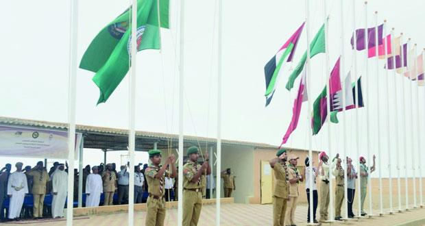 افتتاح فعاليات وأنشطة المخيم الكشفي الصيفي الخليجي لمرحلة المتقدم بجبل آشور