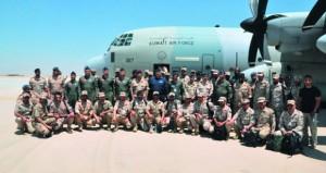 الكويت تشارك في تمرين (يرموك 3) للقوات الجوية بمصر