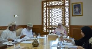 اجتماع (رئيسية) مسابقة السلطان قابوس للإجادة الحرفية