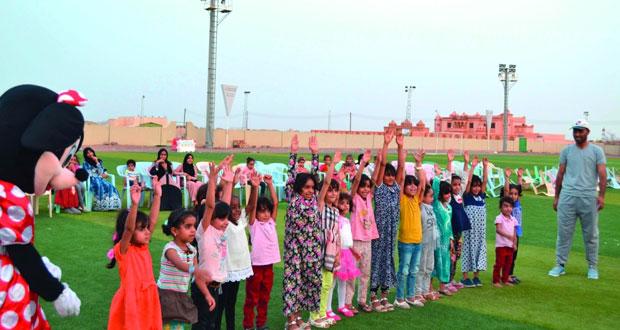 فعاليات رياضية متنوعة تلامس رغبات المجتمع ومشاركات واسعة لمختلف الأعمار