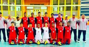 منتخبنا الوطني للكرة الطائرة للناشئين يواجه المنتخب الأردني في مباريات دور الثمانية