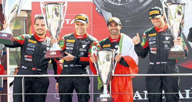 (عمان لسباقات السيارات) يحرز لقب (بلانك بان)