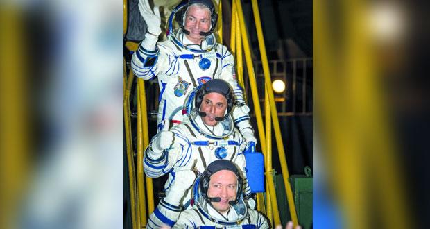وصول 3 رواد فضاء إلى المحطة الفضائية الدولية