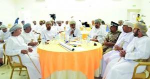 استـعراض مشـروع الاستراتيجية الوطنية للتنمية العمرانية بمحافظة جنوب الشرقية