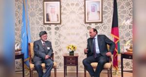 ابن علوي يبحث قضايا المنطقة وتعزيز العلاقات مع وزراء خارجية الكويت والعراق والمالديف