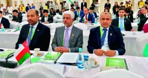 الزبير يشارك في اجتماع المجلس الأولمبي الآسيوي بعشق اباد