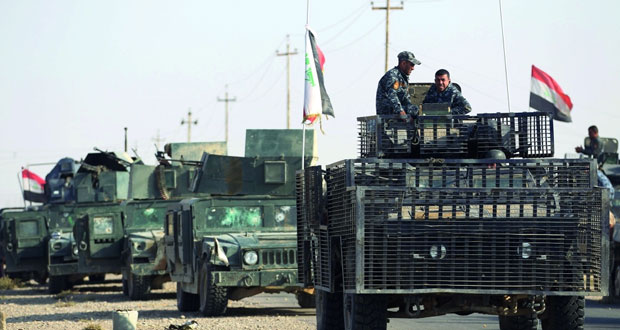 عقب استعادة (عنة) .. القوات العراقية تواصل عمليات تحرير الحويجة