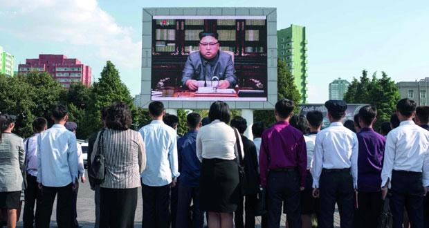 (الأزمة الكورية) : واشنطن توسع نطاق العقوبات وبيونج يانج قد تختبر (هيدروجينية)