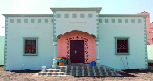 العيون التطوعي يُنهي بناء منزل لإحدى الأسر المستحقة بالمضيبي