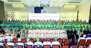 """""""أوربك"""" تحتفل بتخريج 171 متدربا في برنامج تطوير القدرات"""