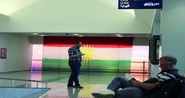 الحظر الجوي على كردستان يدخل حيز التنفيذ واكتظاظ بمطاريها