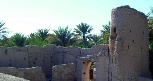 قرية الأفلاج .. كنوز تراثية وطبيعة خلابة